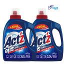 액츠 퍼펙트 액체세제 세탁세제 베이킹소다 3.5L 2개