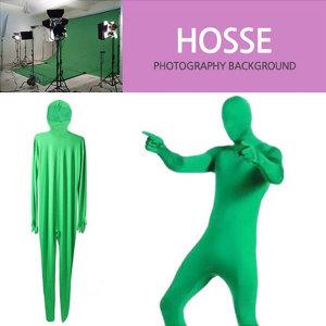 KOCHA 크로마키 촬영의상 녹색 쫄쫄이