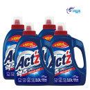 액츠 퍼펙트 액체세제 세탁세제3L+500ml4개베이킹소다