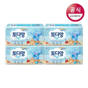 토디앙 썸머드라이 팬티 기저귀 특대형 남아 36매x4팩