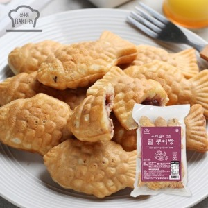 MLC  성수동BAKERY 우리밀 무농약 팥 붕어빵 3봉세트