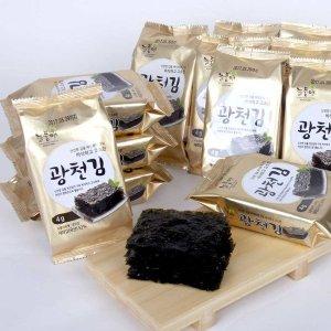 늘품애 황금빛 광천김 도시락김 4g X 72봉 무료배송