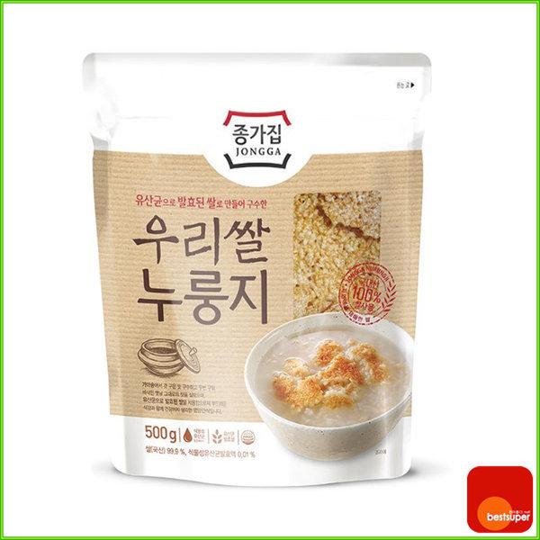 스낵 우리쌀 누룽지 500g