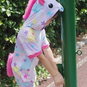 파스텔스타유니콘 반팔잠옷 캐릭터동물잠옷 여름잠옷