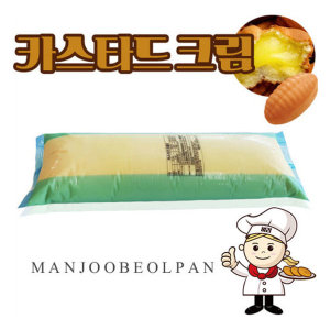 만쥬 카스타드 크림 5kg 오뚜기 최상급 커스터드크림