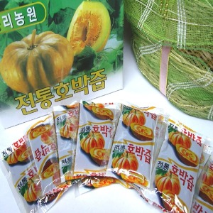 판매1위 전통호박즙/50팩 + 맛보기 사은품 110ml