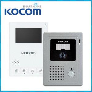 KCV-434 + KC-C60 패키지 아날로그 비디오폰 인터폰