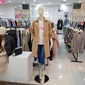 온앤온 모다아울렛 뒷리본 트렌치코트 (JW9MR405/베이지)