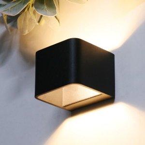 사각캐스팅 LED벽등 무드등 (블랙/화이트) 벽등 LED무