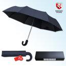 우산 3단 전자동 곡자손잡이 스위스 몽크로스 명품우산