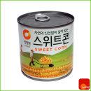 통조림 캠핑 혼밥 스위트콘 태국산 340gx24캔