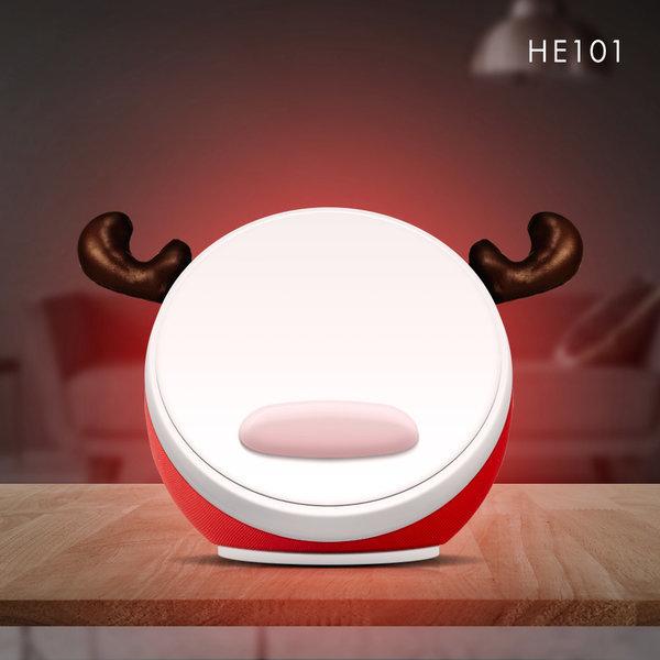 이노맥스 LED 무선 충전 블루투스 무드등 스피커