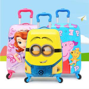 (빠른직구)미니언즈 헬로키티 미키 어린이 캐리어가방