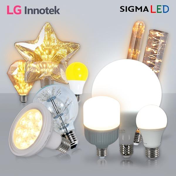 LED전구/볼전구/형광등/램프/전등/조명 벌브8W~9W주광