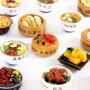 대만 음식 미니어처 냉장고 마그네틱 자석 마그넷15종