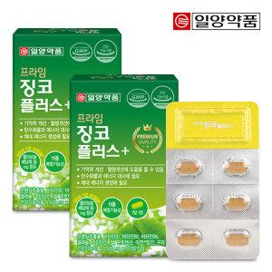 일양약품 프라임 징코 플러스 30정 2박스/2개월분