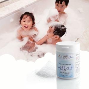 구름목욕시간 대팩 베이직 유아입욕제 25회분