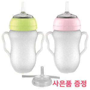프띠아띠 실리콘 아기 빨대컵 빨대리필증정