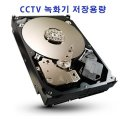 CCTV 녹화기 저장용량 HDD 녹화기 메모리 4000G 4T