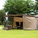 거실형 4계절 투룸 대형 패밀리 캠핑 텐트 베타스크린