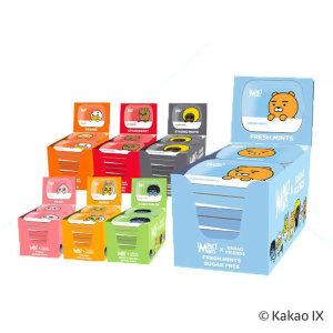 임팩트 카카오프렌즈 민트 카카오 무설탕 캔디