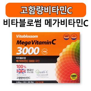 비타블로썸 메가비타민 C 3000 파인 120포 약국용
