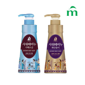 무궁화 샤워때비누(사해소금+화산송이) 900ml