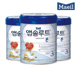 앱솔루트 본 3단계 750g 3캔 무료배송