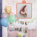 생일파티 4종세트(파스텔)+숫자풍선(로즈골드)_4