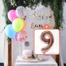 생일파티 4종세트(네온형광)+숫자풍선(로즈골드)_9