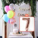 생일파티 4종세트(네온형광)+숫자풍선(로즈골드)_7