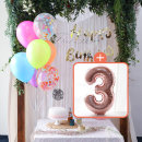 생일파티 4종세트(네온형광)+숫자풍선(로즈골드)_3
