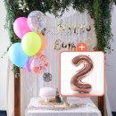생일파티 4종세트(네온형광)+숫자풍선(로즈골드)_2