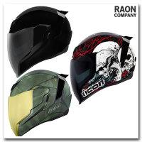 아이콘 에어플라이트 오토바이 헬멧 다양한 디자인