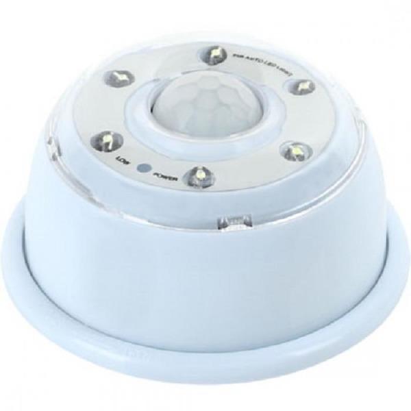 NETmate NM-KHT046 인체감지 6구 LED 무선 센서등