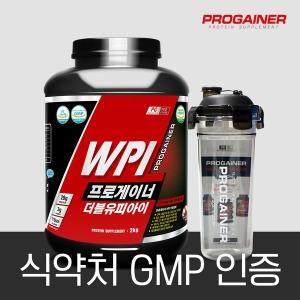 프로게이너 WPI 2kg_초코 단백질 보충제 근육발달