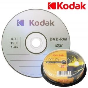 KODAK DVR-RW  4.7GB 4X 10P 케익