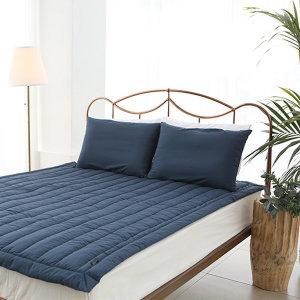 (루밋)  루밋 쓱싹 침대패드 네이비 퀸/더블