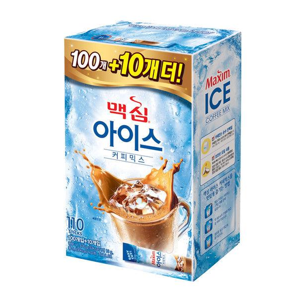 맥심 아이스 커피믹스 100T +10T