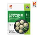 사조오양 브로콜리 포자 만두 180g/간식/전자렌지용