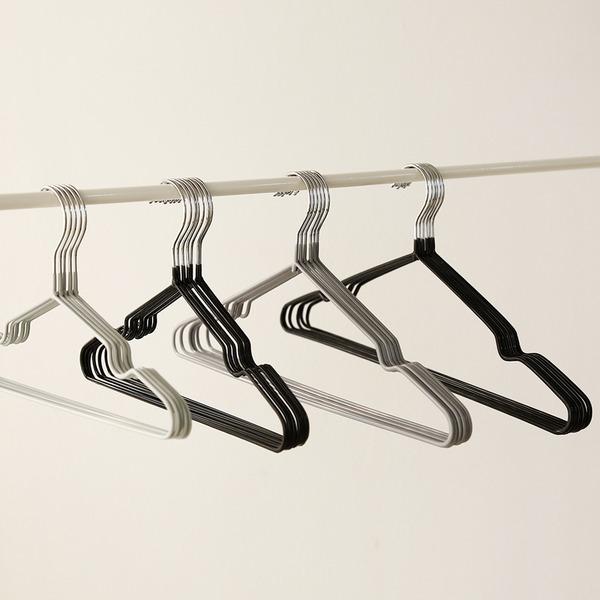 논슬립 성인 철제옷걸이 60p /옷가게옷걸이 옷장정리