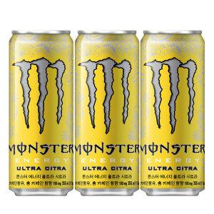 에너지드링크 몬스터 시트라355mlx24캔/탄산음료/콜라