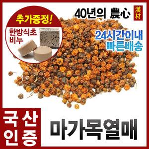 마가목열매600g/정공목열매/마가자/정공실/국내산