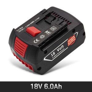 BOSCH 보쉬 호환 전동드릴 리튬 이온 배터리 18V6.0Ah