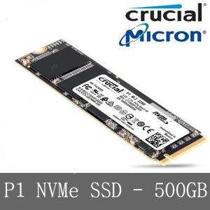 마이크론 크루셜 P1 NVMe M.2 - 500GB SSD YJ