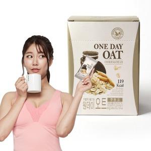 간편식사 식사대용 오트밀 원데이오트쿠앤크맛x1박스