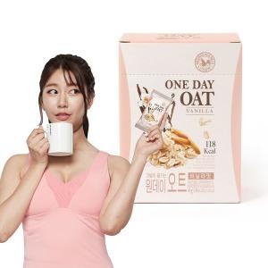 간편식사 식사대용 오트밀 원데이오트바닐라맛x1박스