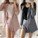 여성 자켓 정장세트 치마바지 신상 루즈핏 투피스