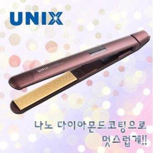 나노 다이아몬드 슬림 플랫 고데기 UCI-A2430  100 200도 조절 가능 / 예열