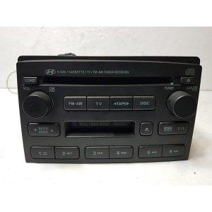 뉴에쿠스 350 순정 AV용 6CD 테잎 라디오 오디오